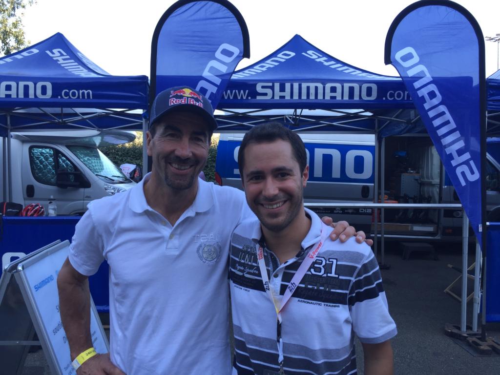 Rencontre avec Luc Alphand - Podologue du sport Le Mans