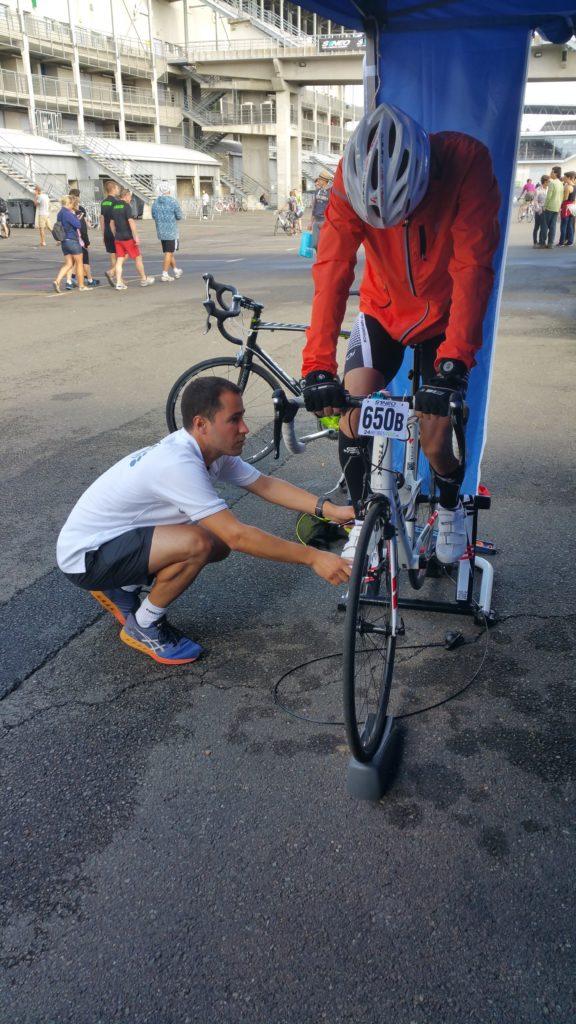 Bilan postural vélo - 24 heures du Mans 2016