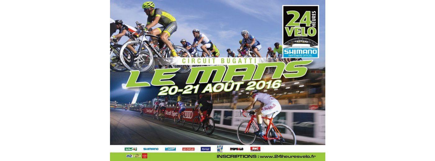 24h du Mans Vélo 2016