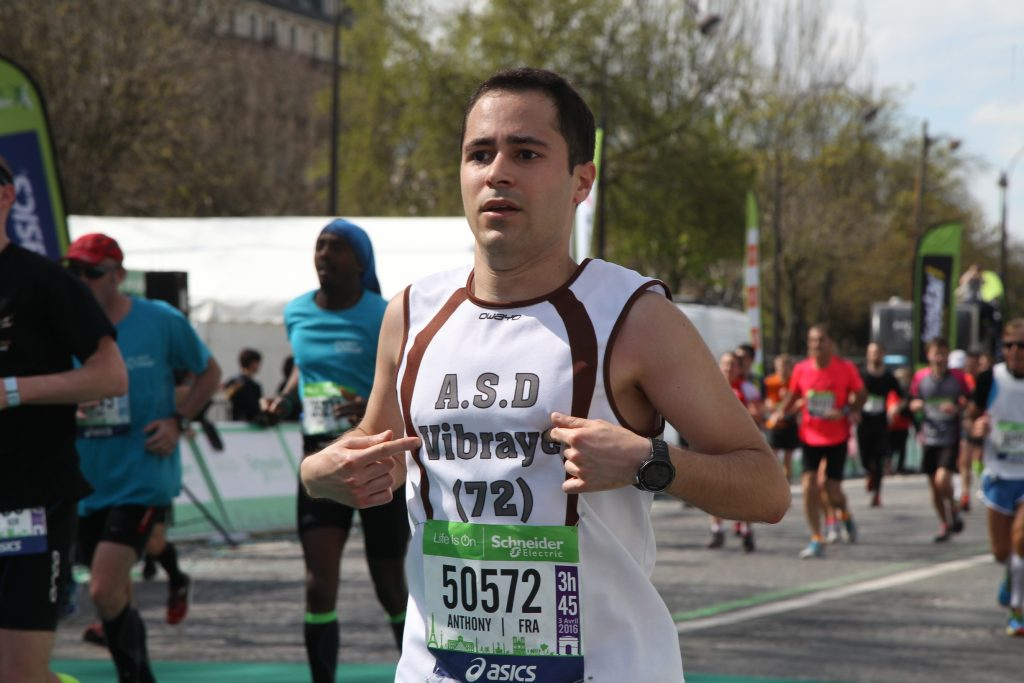 Marathon de Paris 2016 - Anthony Carreira